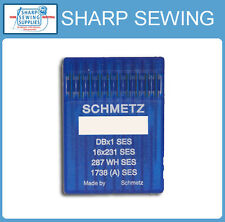 10 SCHMETZ 16X257  SIZE#14BP/90 LOCKSTITCH BALL POINT NEEDLES DBX1 16X231 287WH