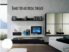 FAMILY TIES  Vinyl Wall Art Decal Home Decor 24""