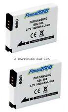2 SLB-10 SLB-10A SBL-10A Batteries for Samsung WB850 WB855 WB150 WB151 WB152