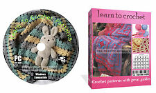 Learn How To Crochet + 830 patterns with great guides on CD Disk