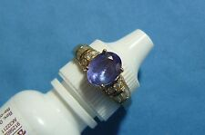 Fine Jewelry Tanzanite & Diamond Ring #R22