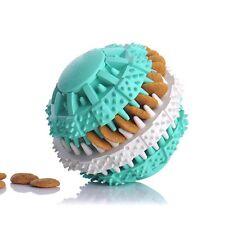 Rubber Ball Toy Pet Dog Puppy Dental Training Chew Teething Dental Healthy Clean