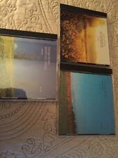 3 George Winston CDs Summer Autumn Winter into Spring VGUC