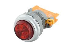 PLN-30 Red 30mm Pilot Panel Indicator Light LED Lamp 120V AC/DC