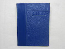 1936 DEFIANCE HIGH SCHOOL YEARBOOK DEFIANCE OH  OHIO