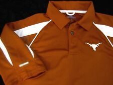 Men's Texas Longhorns Burnt Orange Polo Style Shirt Size S