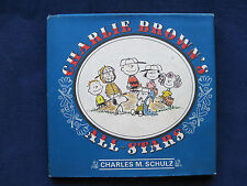 CHARLIE BROWN'S ALL-STARS by CHARLES M SCHULZ 1st Edition BASEBALL CARTOONS