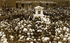 Bacup. Unveiling Ceremony of Maden Memorial Fountain 1912 by Firth, Stacksteads.