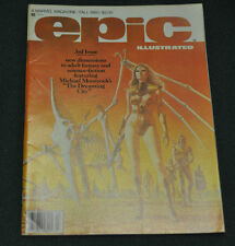 EPIC ILLUSTRATED #3 (6.5) 1ST APPEARANCE OF DREADSTAR! MOVIE/TV SHOW COMING!