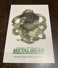 SDCC Metal Gear Solid Video Game Mondo Showcard Postcard Art Print Randy Ortiz