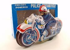 Japan no 51 Moto tôle lithographiée friction 22,5 cm tintoy motocycle MIB neuf