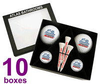 Best Impressions Personalised Golf Gift Box Biodegradable Different Quantities