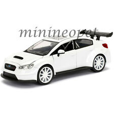 JADA 98296 FAST AND FURIOUS 8 MR. LITTLE NOBODY'S SUBARU WRX STI 1/24 WHITE