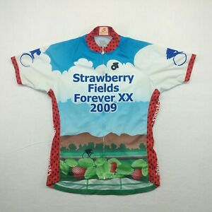 Champion System Women XXL Cycling Trail Jersey Multicolor Short Sleeve Polyester