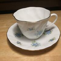 Vintage Regal Heritage Floral Cup & Saucer Bone China Made in England