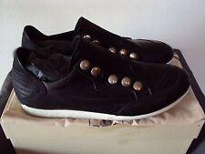 Bruno Bordese  Sneakers Uomo Pelle Nabuk Nero Made In Italy N.43 Nuove 712639104cb