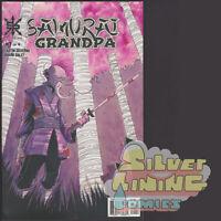 SAMURAI GRANDPA #1 1ST PRINT SOURCE POINT PRESS COMICS SOLD OUT