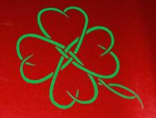 4 Leaf Clover Tribal Decal sticker peace St. Patty's Day Free Shipping!!!!!