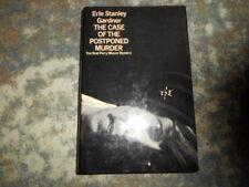Erle Stanley Gardner The Case of the Postponed Murder 1st UK HB DJ Perry Mason