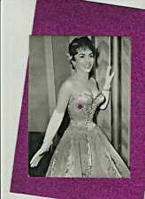 Schallbildkarte Schallplatten-AK Gina Lollobrigida