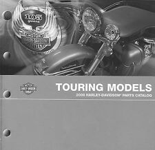 2008 HARLEY-DAVIDSON 105TH ANV TOURING MODELS PARTS CATALOG MANUAL -FLTR-FLHTCU