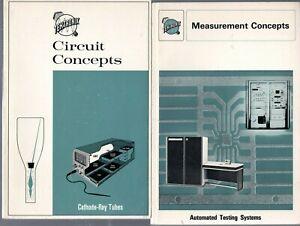 Tektronix Circuits and Measurements Concepts Books Hard Copy Paperback