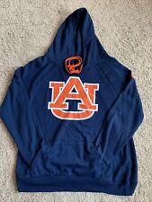 Men's Auburn University Tigers Navy Blue Hoodie Size XL (X07)
