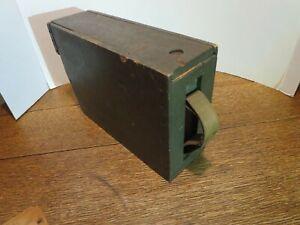 ORIGINAL WW 1 WOOD AMMO BOX COLT MACHINE GUN WORLD WAR ONE