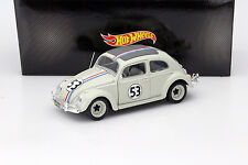 Volkswagen VW Käfer Herbie #53 aus dem Film The Love Bug 1962 hellgrau 1:18 Hot
