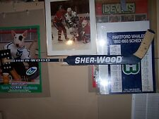 Grant Fuhr Toronto Maple Leafs Signed Sherwood Goal Stick-Oilers-Blues-Sabres +
