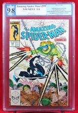AMAZING SPIDER-MAN #299 (Marvel 1988) PGX 9.8 NM/MT Near Mint 1st Venom in Cameo
