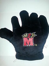 Maryland Terrapins Fan Glove Fear The Turtle University Mascot Red Black Plush