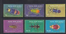 PAPUA NEW GUINEA  2005 BEETLES - INSECTS set 6  MNH