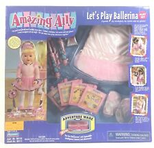 Amazing Ally Let's Play Ballerina Play Set 98110 Playmates 2000 New