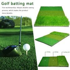 Golf three-in-one pad Cutter swing pad practice against grass mat+beef tendon T