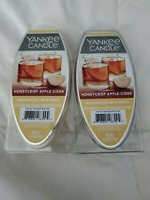 Yankee Candle Honeycrisp Apple Cider Fragranced Wax Melts 2 Pkgs FREE SHIPPING