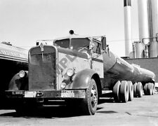 1940's Kenworth KW Road Tractor Semi Truck Rig Gas Tanker Trailer 8x10 Photo 56