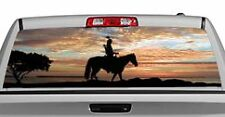 Truck Rear Window Decal Graphic [Sunset Tracker] 20x65in DC16504