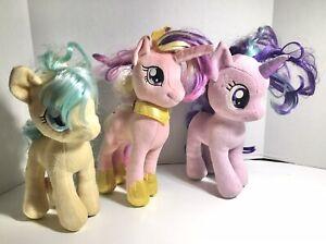 "My Little Pony 10 - 11"" Plush 2016 Pegasus - Starlight Glimmer - Bubbles-Hasbro"