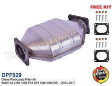 Diesel Particulate Filter DPF BMW X3 2.0D 3.0D E83 X83 520d E60 E61 2004-2010