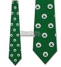 Silk Celtics Tie Mens Officially Licensed Neck Ties Boston Celtics Neckties NWT