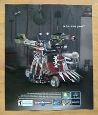 Custom Robo Nintendo Gamecube 2004 Print Ad/Poster Official Video Game Promo Art