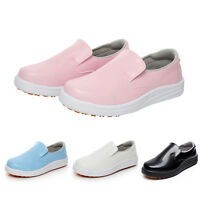 Chef Shoes Men Women New Restaurant Cook Working Flats Safety Anti-Slip Loafers