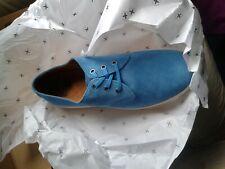 Brand NEW Dr. Martens Men's Coronado Derby Suede Shoes  mid blue size 6