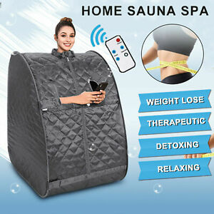 OppsDecor Portable Folding Home Steam Sauna SPA Loss Weight Detox Therapy Tent Q