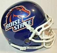 BOISE STATE BRONCOS NCAA COLLEGE FOOTBALL SCHUTT AIR MINI HELMET