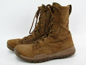 """Nike SFB Field 8"""" Mens 5.5 (EU 38) Coyote Military Combat Boots Leather"""