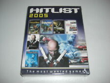 HITLIST 2005 Pc 6 games! Far Cry Deus Ex 2 Hitman TOCA 2 Prince Persia - NEW