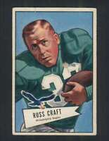 1952 Bowman Large #116 Russ Craft VG/VGEX Eagles 99841