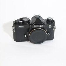 Nikon FM2N FM2 N Black 35mm FILM ANALOG SLR camera -Body Only-EXC Condition
